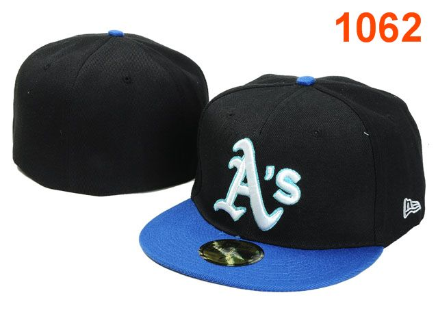 Okaland Athletics MLB Fitted Hat PT02